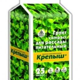 Почвогрунт Крепыш - брикетированный Рассадный